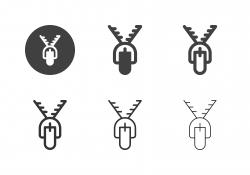 Zip Icons - Multi Series