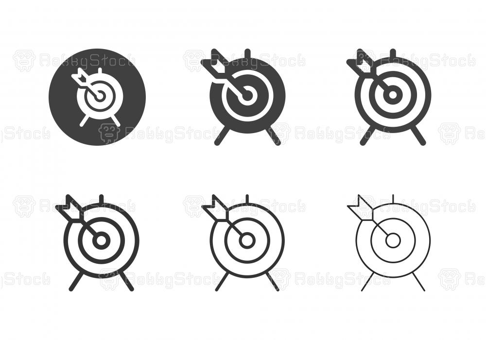 Archery Icons - Multi Series