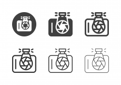 DSLR Camera Icons - Multi Series