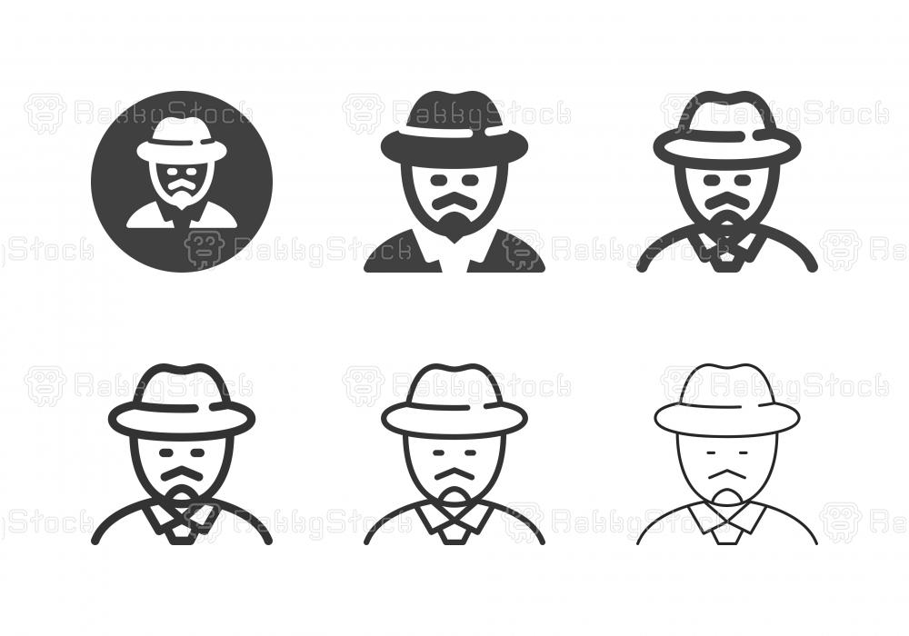 Journalist Icons - Multi Series
