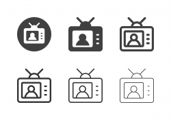 TV News Icons - Multi Series