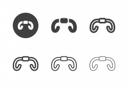 Road Bike Handlebar Icons - Multi Series