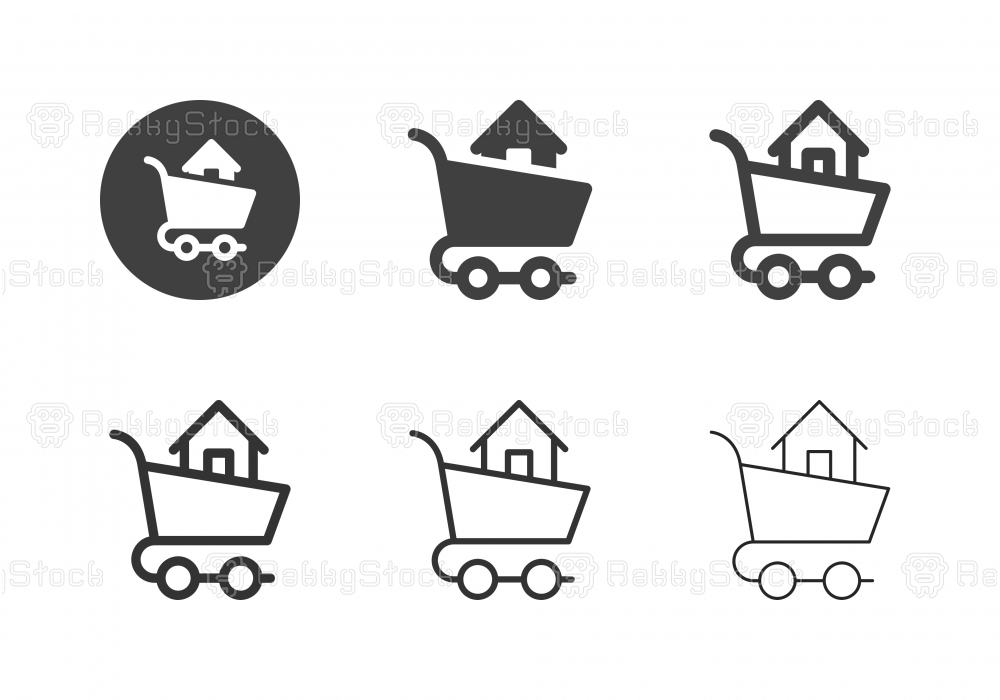 Home Shopping Icons - Multi Series