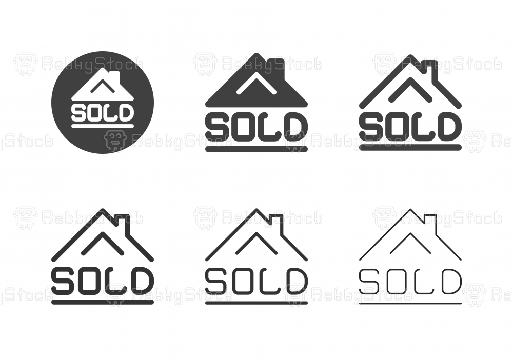 House Sold Icons - Multi Series