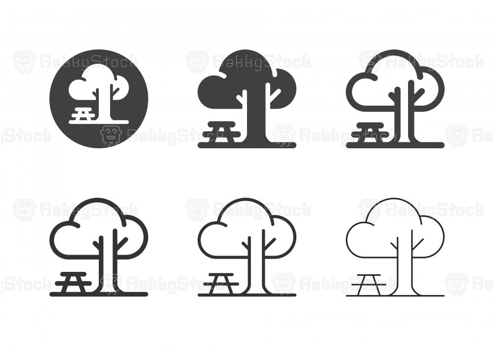 Public Park Icons - Multi Series