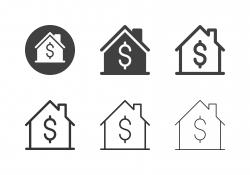 House Price Icons - Multi Series