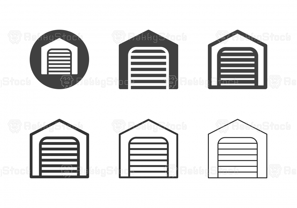 Garage Icons - Multi Series