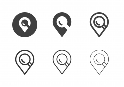 Searching Location Icons - Multi Series