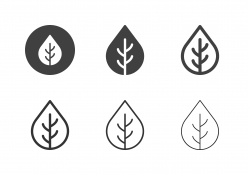Leaves Icons - Multi Series