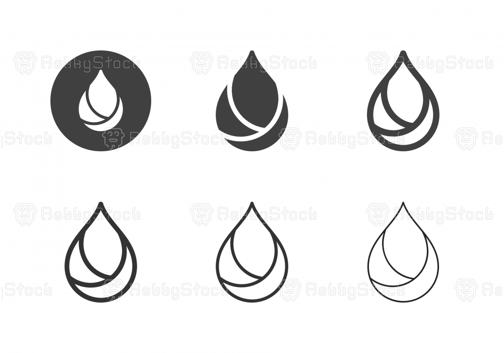 Oil Icons - Multi Series