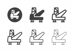 Oil Platform Icons - Multi Series