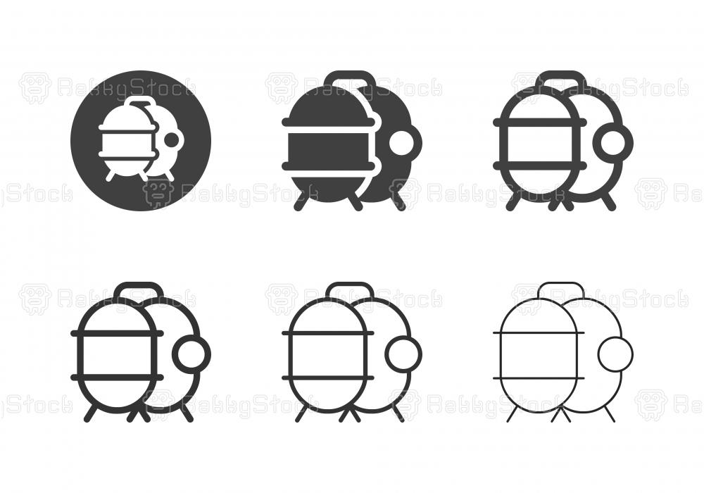 Storage Pressure Tank Icons - Multi Series