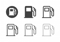 Fuel Pump Icons - Multi Series