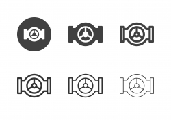 Industry Valve Icons - Multi Series