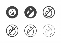 No Fire Icons - Multi Series