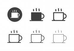 Black Coffee Icons - Multi Series