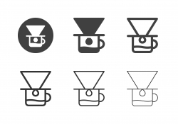 Coffee Drip Icons - Multi Series