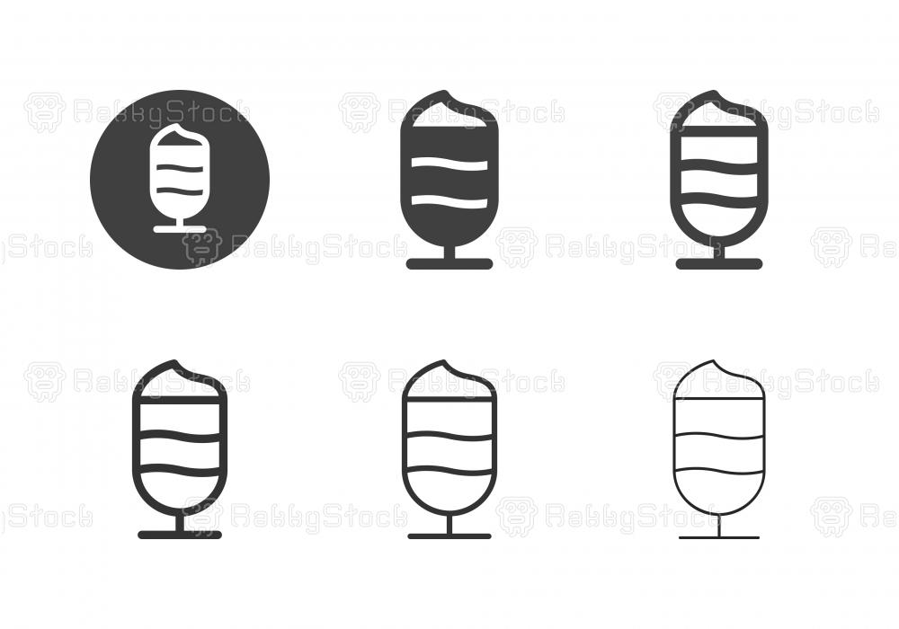 Milk Shake Icons - Multi Series