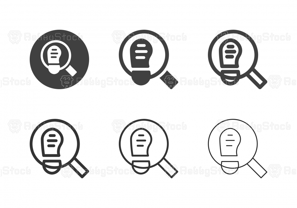 Detective Icons - Multi Series