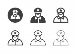 Police Icons - Multi Series