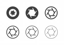 Aperture Icons - Multi Series