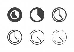 Timelapse Icons - Multi Series