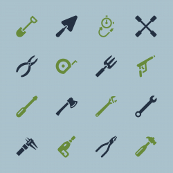 Tool Icons - Color Series | EPS10