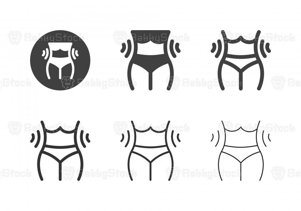 Feminine Waist Icons - Multi Series