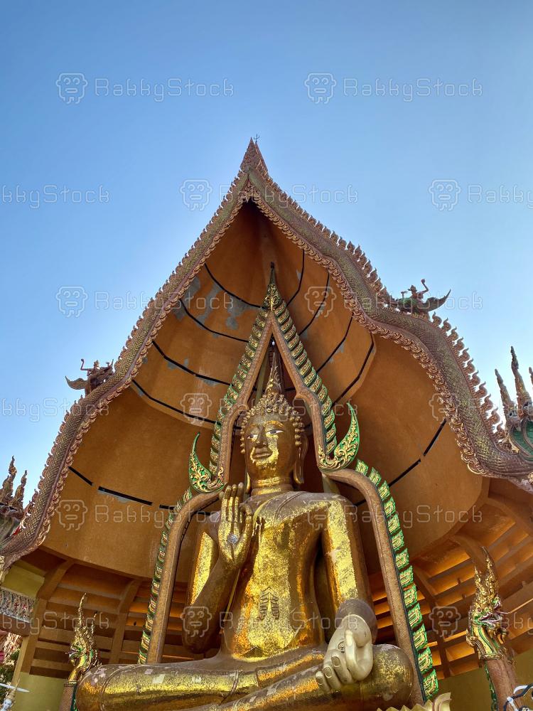 Golden Buddha at Tham Sua Temple