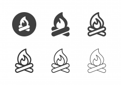 Bonfire Icons - Multi Series