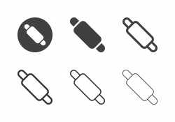 Rolling Pin Icons - Multi Series