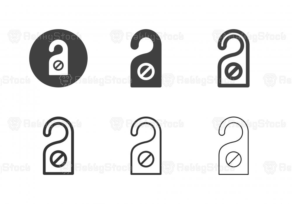 Do Not Disturb Icons - Multi Series