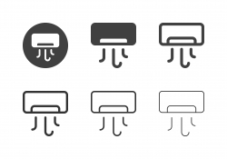 Air Conditioner Icons - Multi Series