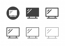 LED Tv Icons - Multi Series