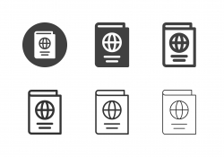 Passport Icons - Multi Series