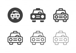 Taxi Icons - Multi Series
