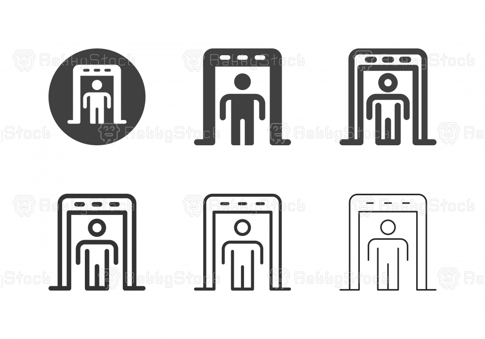 Security Scanner Icons - Multi Series