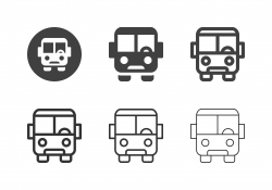 Bus Icons - Multi Series
