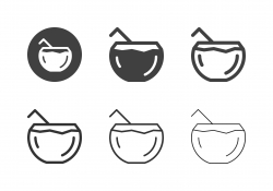 Coconut Juice Icons - Multi Series