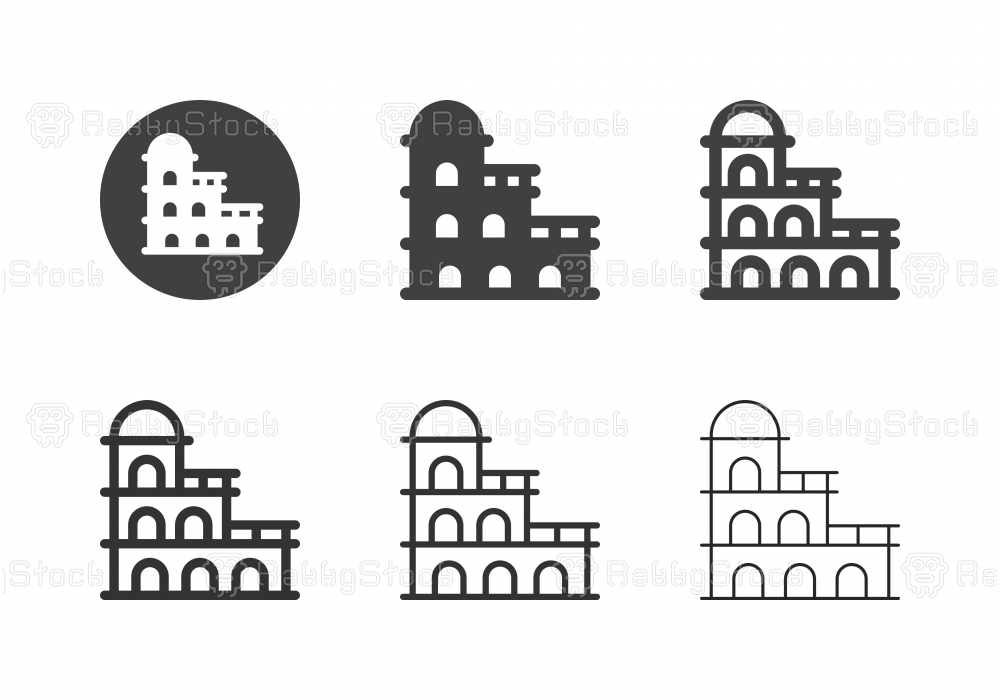 Boutique Hotel Icons - Multi Series