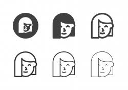 Teenage Girl Icons - Multi Series