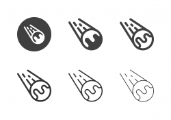 Comet Space Icons - Multi Series