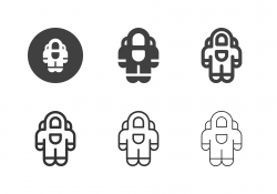 Space Suit Icons - Multi Series