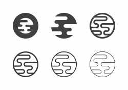 Planet Icons - Multi Series