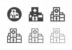Hospital Icons - Multi Series