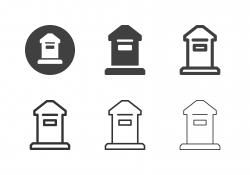 Post Box Icons - Multi Series
