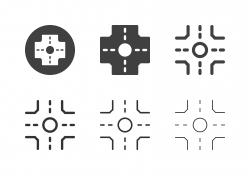 Crossroad Icons - Multi Series