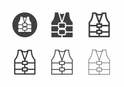 Life Jacket Icons - Multi Series