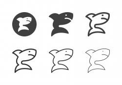 Shark Icons - Multi Series