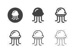 Jellyfish Icons - Multi Series